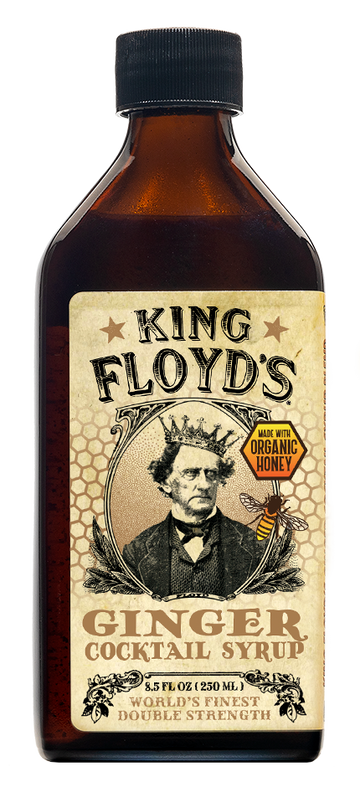 KING FLOYD'S Ginger Cocktail Syrup