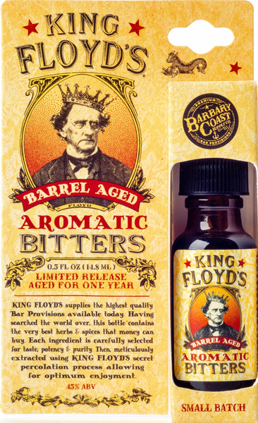 King Floyd's® Bitters ~ LIMITED RELEASE: Barrel Aged Aromatic