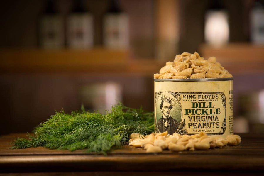 KING FLOYD'S Dill Pickle Virginia Peanuts