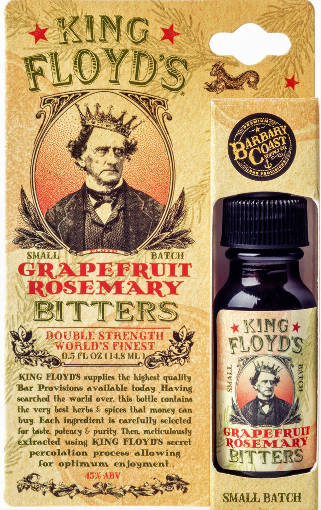 King Floyd's Grapefruit and Rosemary Bitters (.5 oz Travel Size)