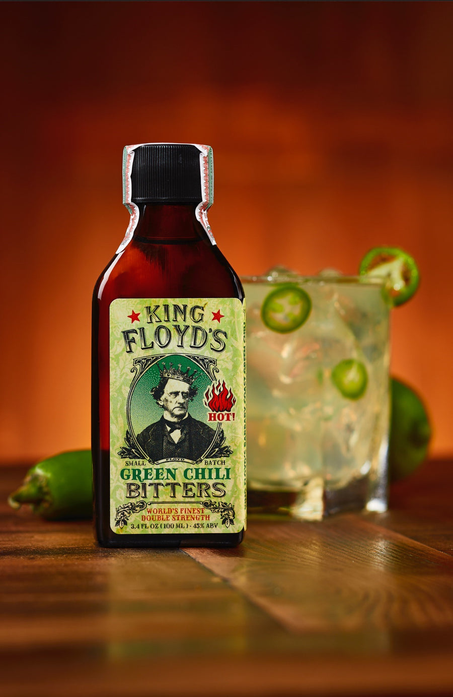 KING FLOYD'S Green Chili Bitters
