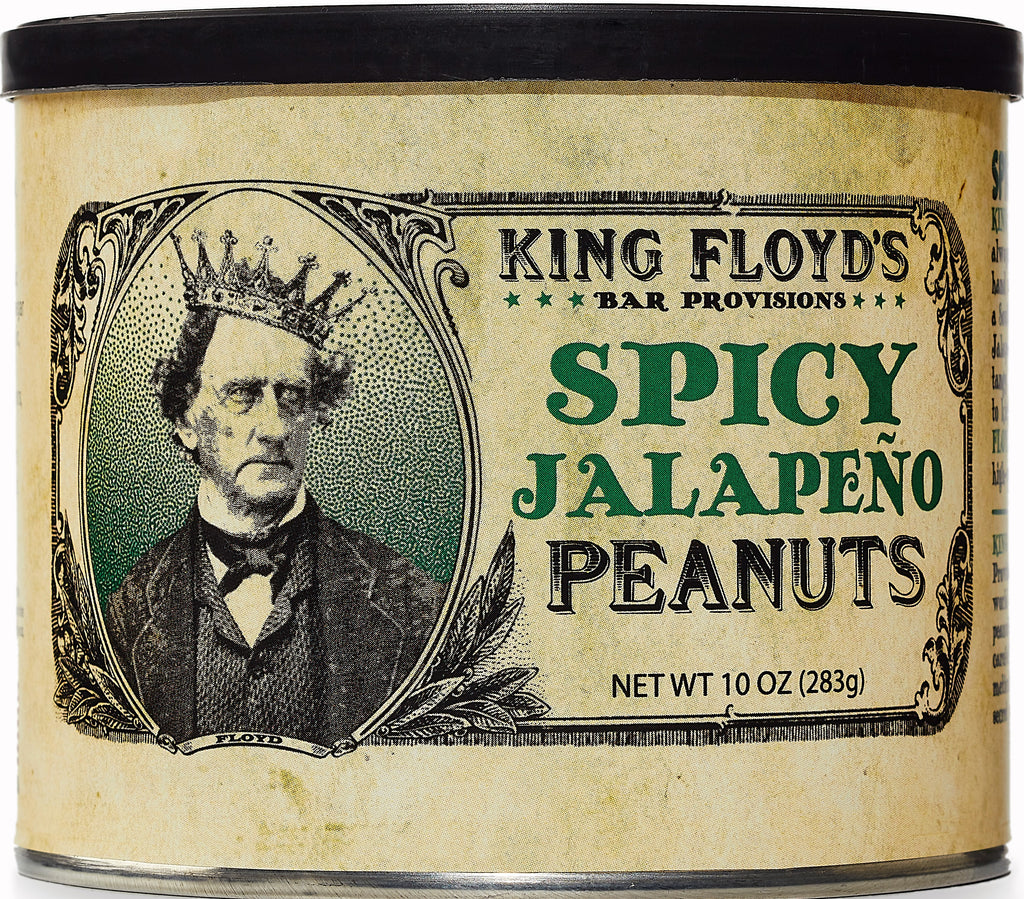 King Floyd's Spicy Jalapeno Peanuts