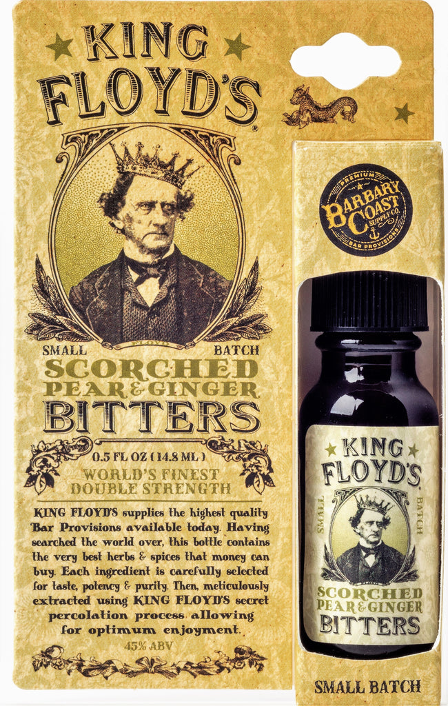 King Floyd's Scorched Pear & Ginger Bitters (.5 oz Travel Size)