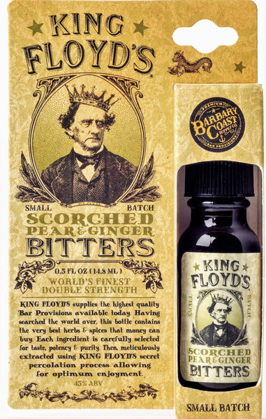 King Floyd's® Bitters ~ Scorched Pear & Ginger