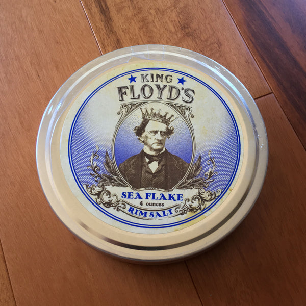 King Floyd's® ~ Sea Flake Rim Salt ~ 4oz