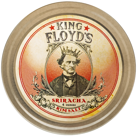 King Floyd's® ~ Sriracha Rim Salt ~ 4 oz