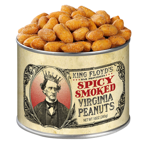 Spicy Smoked Virginia Peanuts