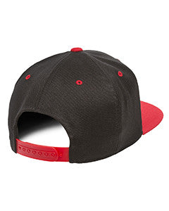 Flex-Fit red and Black Snapback,110 Flexfit