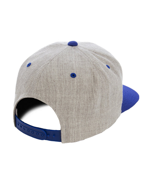 Yupoong Royal and Heather Premium Two Tone Snap Back