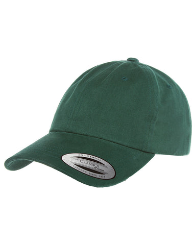 Spruce, Dad Hat, Low-Profile, Cotton Twill, Brass Buckle