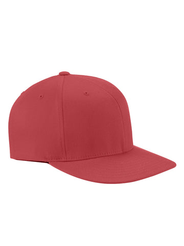Red, Flexfit, Wooly Twill, Pro Baseball, On-Field Shape, Cap
