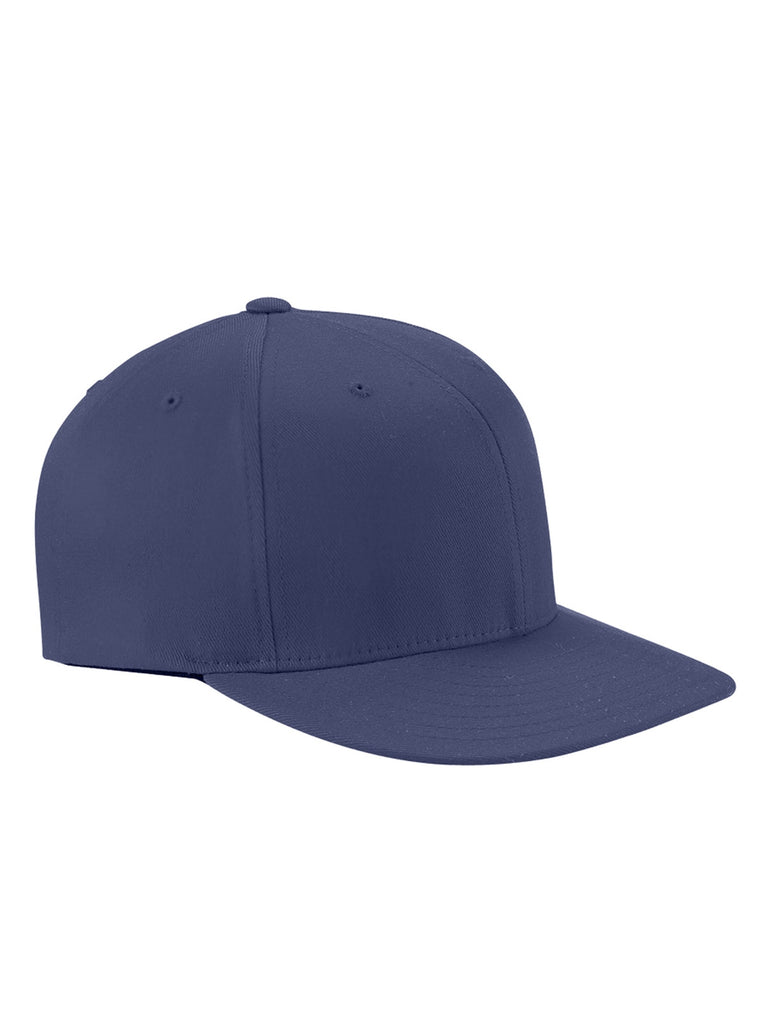 Navy, Flexfit, Wooly Twill, Pro Baseball, On-Field Shape, Cap