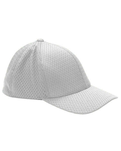 White, Flexfit, Adult, Athletic, Mesh, Cap