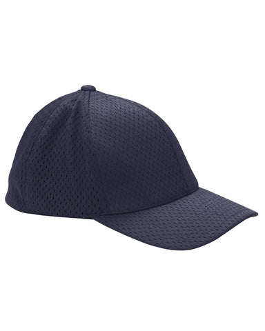 Navy, Flexfit, Adult, Athletic, Mesh, Cap
