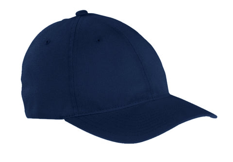 Navy, Flexfit, Garment-Washed, Cotton, Cap