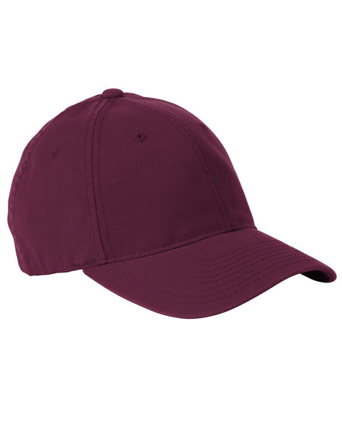 Maroon, Flexfit, Garment-Washed, Cotton, Cap