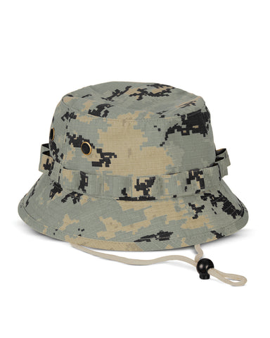 Green Camo, Ripstop, Boonie Hat
