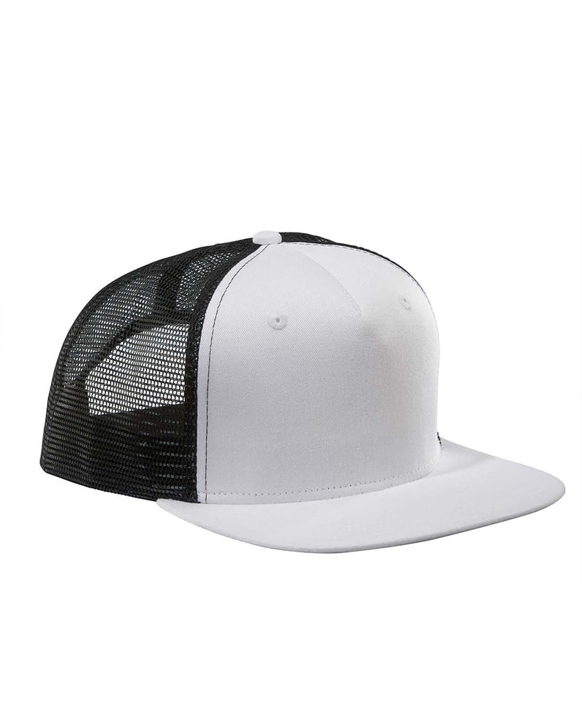 White on Black, Surfer, Trucker, Snap Back, Cap
