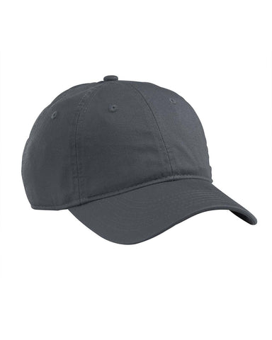 Charcoal, Organic, Cotton Twill, Unstructured, Baseball Hat