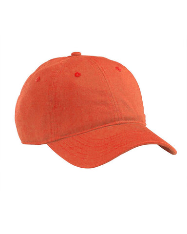 Orange Poppy, Organic, Cotton Twill, Unstructured, Baseball Hat