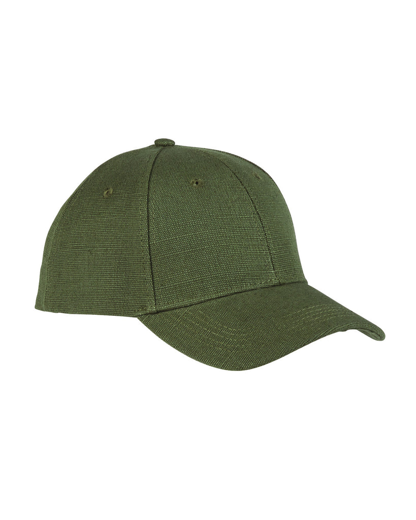 Olive, Hemp, 6 Panel, Snap Back, Baseball Cap