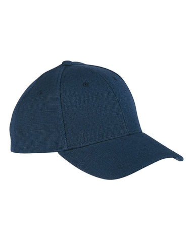 Navy, Hemp, 6 Panel, Snap Back, Baseball Cap