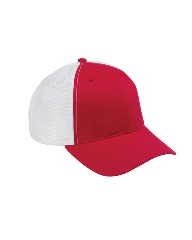 Red on White, Old School, Baseball Hat