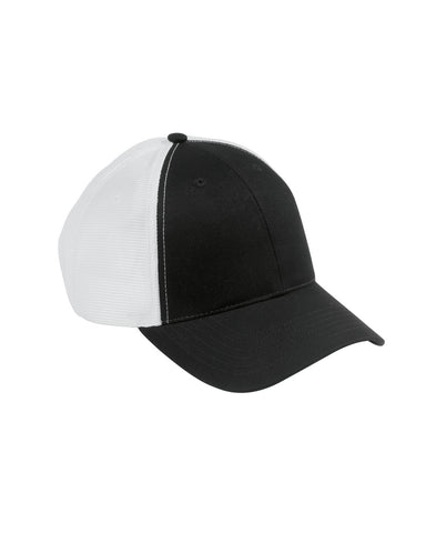 Black on White, Old School, Baseball Hat