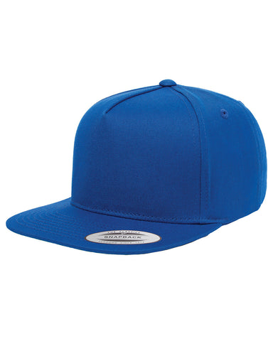 Royal 5-Panel Cotton Twill Snapback