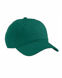 Green, Organic, Cotton Twill, Unstructured, Baseball Hat
