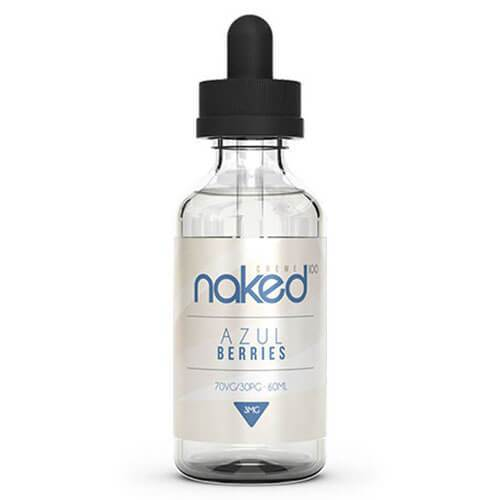 Naked 100 Cream E Liquid By Schwartz - Azul Berries