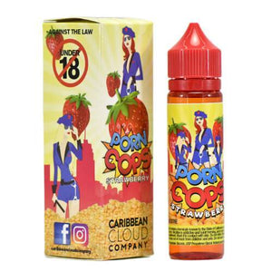 Caribbean Cloud Company eJuice - Porn Cops Strawberry
