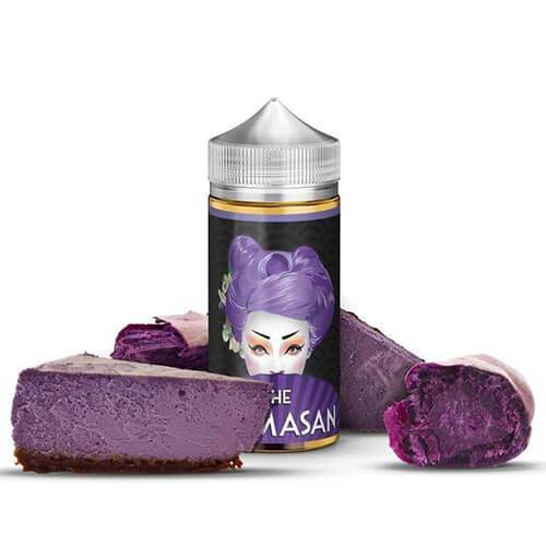 The Mamasan eLiquids - Purple Cheesecake