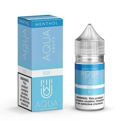 Aqua Menthol eJuice SALTS - Rush