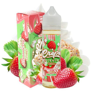 Crepe Liquid - Strawberry Crisp