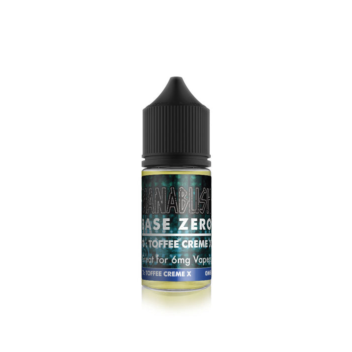 Base Zero - Toffee Creme X 30ml Shortfill for 6mg Vapers
