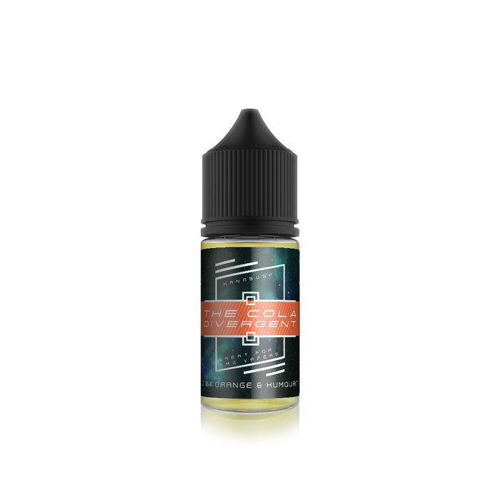 The Cola Divergent - Orange and Kumquat Cola 20ml Shortfill
