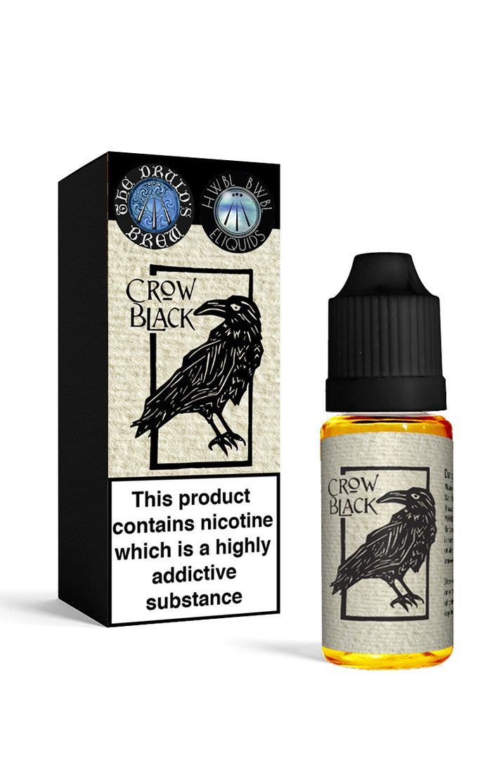 Crow Black Eliquid by the Druids Brew