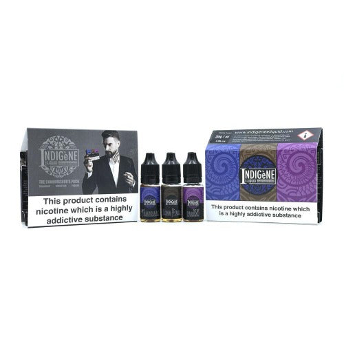 Indigene Eliquid Connoisseurs Pack Full Image