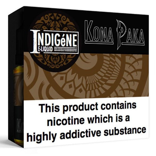 TPD Compliant - Indigéne Eliquid Ltd Kona Paka by Indigéne Eliquid - 30ml 18mg