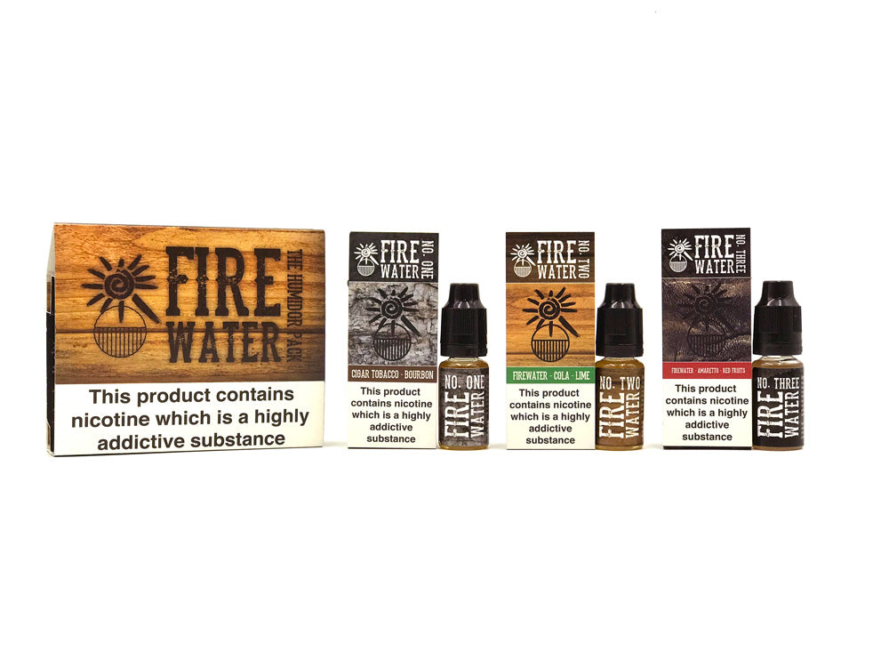 All three Firewater flavours