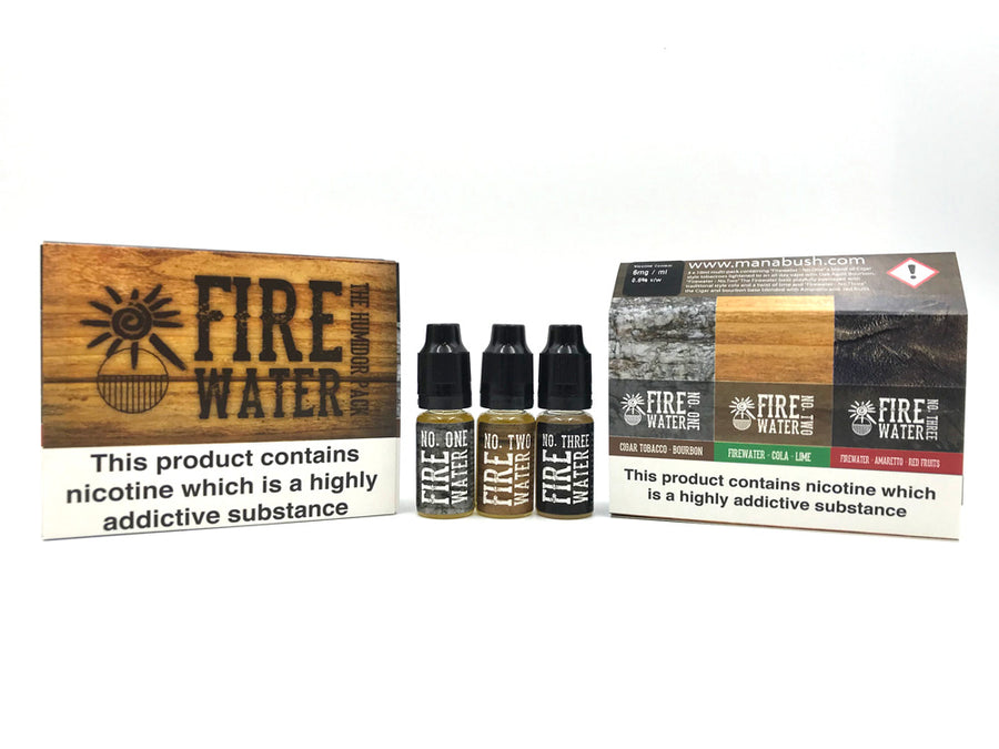 Fire water Humidor pack - all three flavours
