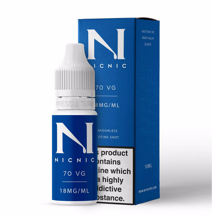 18mg 70% VG Nicotine Shot 10ml