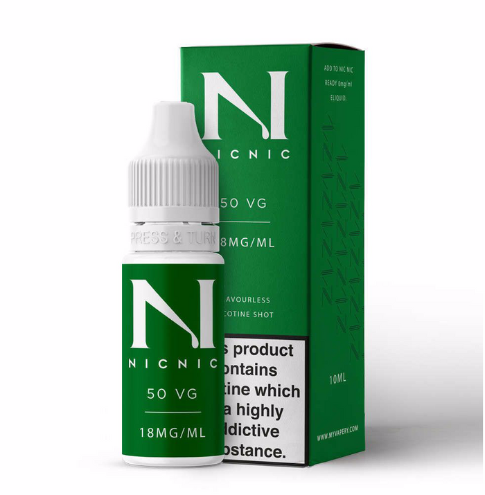 18mg 50% VG Nicotine Shot 10ml