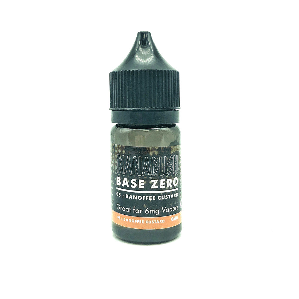 Base Zero 05 - Banoffee Custard - 30ml