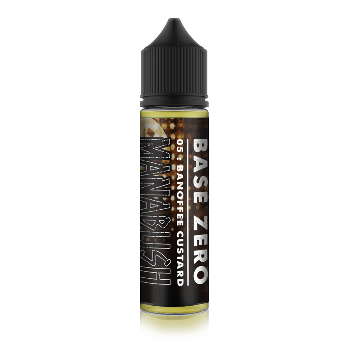 Base Zero 05 - Banoffee Custard - 50ml