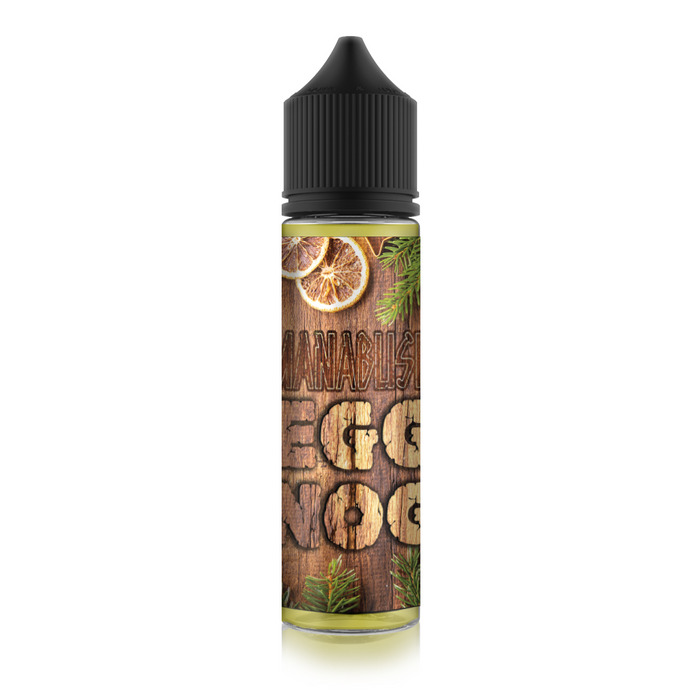 Manabush Eggnog Seasonal eliquid - 50ml Shortfill