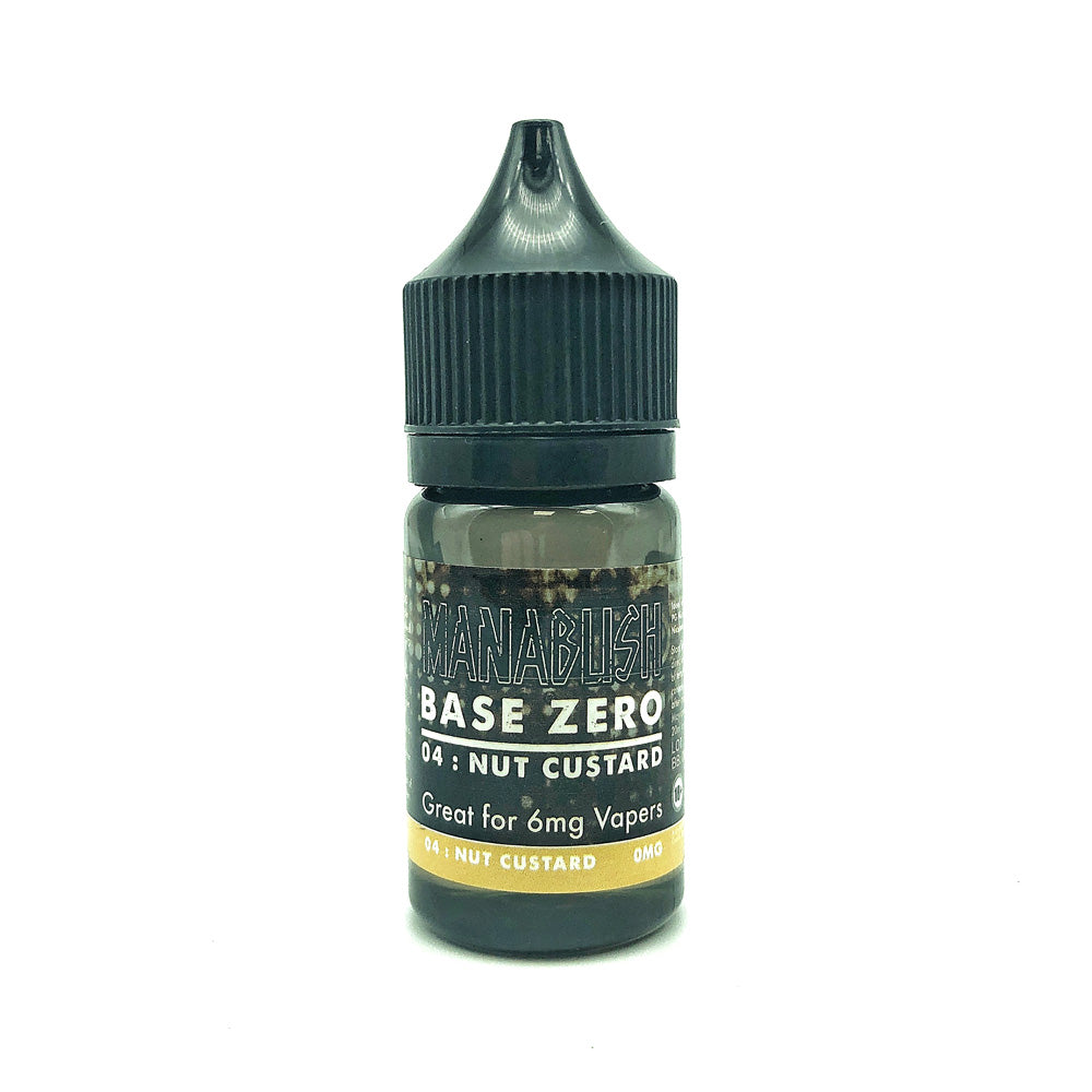 Base Zero 04 - Nut Custard - 30ml