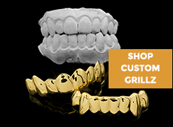 We'll make custom grillz that perfectly fit your teeth, GUARANTEED!