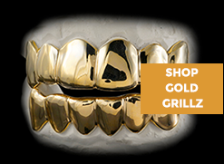 Visit our HUGE collection of gold grillz styles for ANY budget.